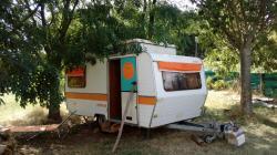 Caravane rétro Les Soleillas