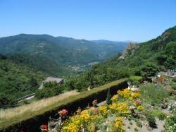 Chalencon vue vallee eyrieux