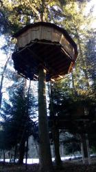 cabane perchée St Julien Labrousse