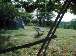 nuitée sous tente Chalencon